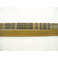 124021050 EL 1287 H8 courroie megadyne pour lave linge
