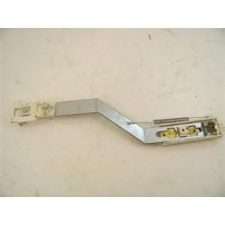 91601642 CANDY ALCL126 n°14 Glissière de porte lave linge