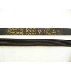 55X7351 el 1250 H8 courroie DAYCO pour lave linge
