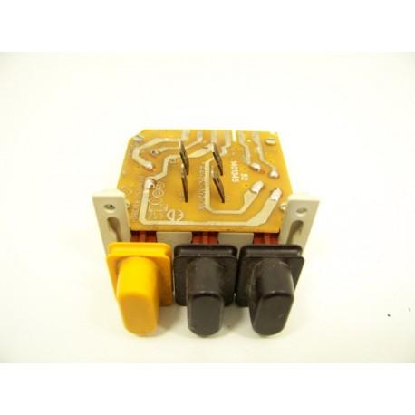 Miele W75 n°9 clavier pour lave linge