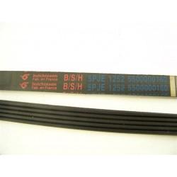 5 PJE 1252 B/S/H courroie pour lave linge