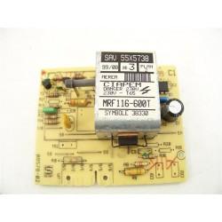 55x5738 VEDETTE EG6003 n°69 module de puissance lave linge