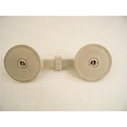 78668 MIELE G532 n°6 Roulettes pour panier inférieur pour lave vaisselle