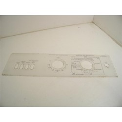 MIELE W698 n°58 façade de bandeau pour lave linge