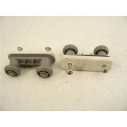 C00256828 ARISTON INDESIT n°9 roulette de rail supérieur pour lave vaisselle