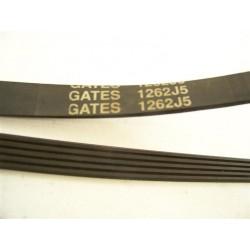 GATES 1262 J5 courroie pour lave linge