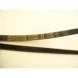 EL 1180 J4 courroie megadyne pour lave linge