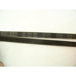 4J 1333 BOSCH - SIEMENS courroie pour lave linge