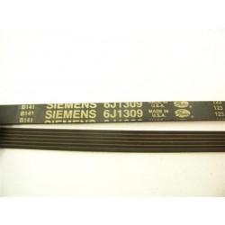 6J 1309 SIEMENS courroie pour lave linge