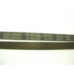 8H 1295 BOSCH - SIEMENS courroie pour lave linge