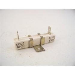 Résistance KRX27 4H-20 n°3 fixe de ciment pour four a micro-ondes