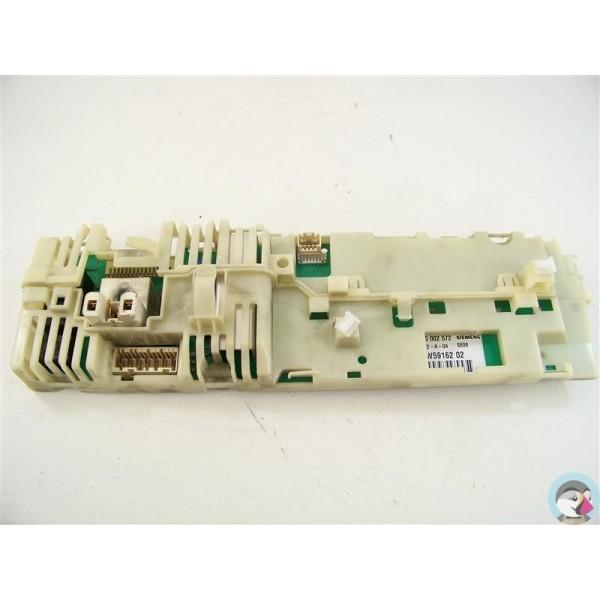 00440012 siemens xlm1262ff 07 n 176 10 programmateur d occasion pour lave linge