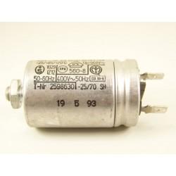 WHIRLPOOL ADP542BL n°11 Condensateur 3µF de démarrage pour lave vaisselle