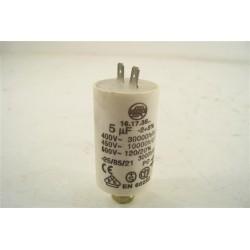 INDESIT ARISTON SCHOLTES n°35 condensateur 5 µF pour lave vaisselle