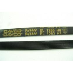 1263 H8 courroie DAYCO pour lave linge