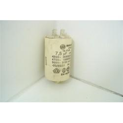 INDESIT ISL60V n°5 condensateur 7,5µFsèche linge