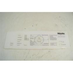 6652660 MIELE W140 n°104 bandeau pour lave linge