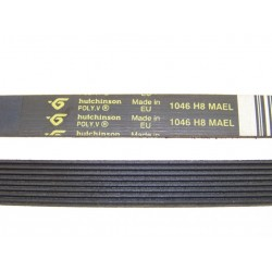 1046 H8 MAEL courroie HUTCHINSON pour lave linge