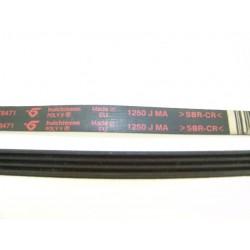 1250 J MA SBR-CR courroie HUTCHINSON pour lave linge
