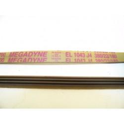 EL 1043 J4 courroie MEGADINE pour lave linge