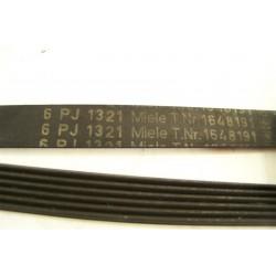 1648191 6PJ 1321 Courroie MIELE lave linge