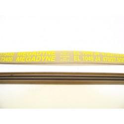 EL 1049 J4 courroie MEGADINE pour lave linge