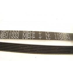 1195921 6PJ 1333 Courroie MIELE lave linge