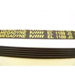 EL 1189 J5 courroie MEGADINE pour lave linge