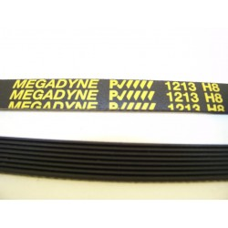 EL 1213 H8 courroie MEGADINE pour lave linge