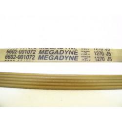 1270 J5 courroie MEGADINE pour lave linge