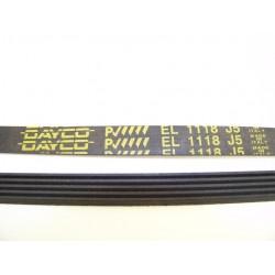 EL 1118 J5 courroie DAYCO pour lave linge