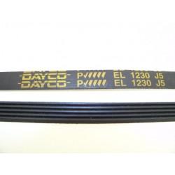 EL 1230 J5 courroie DAYCO pour lave linge