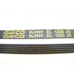 EL 1233 J5 courroie DAYCO pour lave linge