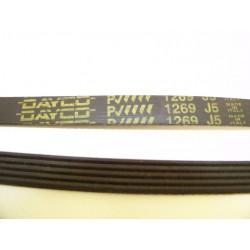 EL 1269 J5 courroie DAYCO pour lave linge