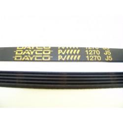EL 1270 J5 courroie DAYCO pour lave linge