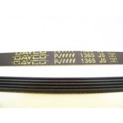 EL 1365 J5 courroie DAYCO pour lave linge