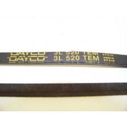 3L 520 TEM courroie DAYCO pour lave linge