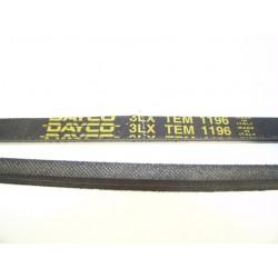 3LX TEM 1196 courroie DAYCO pour lave linge