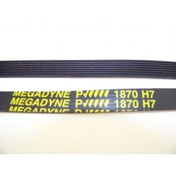 1870 H7 megadyne courroie pour sèche linge