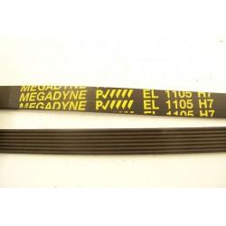 EL 1105 H7 courroie MAGADYNE pour lave linge
