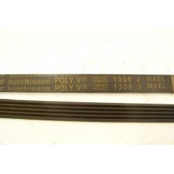 1306 J MAEL courroie HUTCHINSON pour lave linge