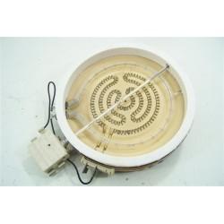 481925998626 WHIRLPOOL AKM927/BA n°45 Plaque élèctrique halogene 145mm / 1200W