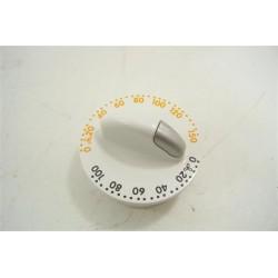 1254314105 ZANUSSI TD4100 n°84 bouton de programmateur pour sèche linge
