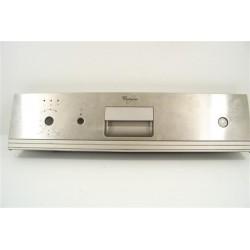 480140101498 WHIRLPOOL ADGSPACEIX n°25 bandeau de commande pour lave vaisselle