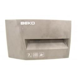 2828119686 BEKO WMB71221AN N°129 facade de boite à produit de lave linge