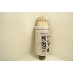 32X2307 DE DIETRICH DVY640BE1 n°18 Condensateur 3µF de démarrage pour lave vaisselle