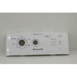 BRANDT WTC0933FW N°167 bandeau pour lave linge