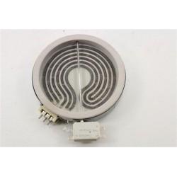 162926001 BEKO CSE67101GW n°81 foyer D16.5cm pour cuisinière