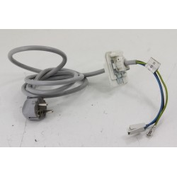 2820901100 BEKO WMB91442LC N°12 câble alimentation pour lave linge