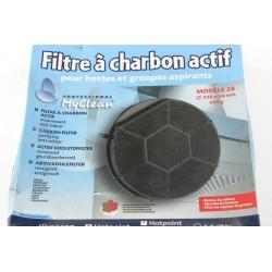 50246557008 ARTHUR MARTIN n°6 filtre a charbon 240X34mm 450g pour hotte